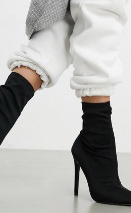 ASOS Casual Style Plain Pin Heels Office Style Elegant Style