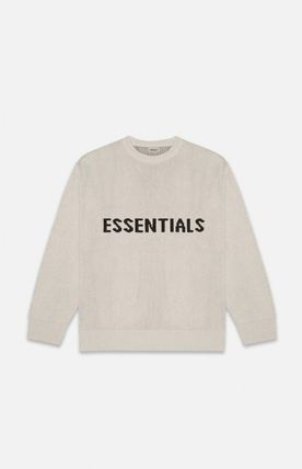FEAR OF GOD ESSENTIALS Street Style Long Sleeves Sweaters
