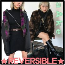 AAKE Casual Style Street Style Outerwear