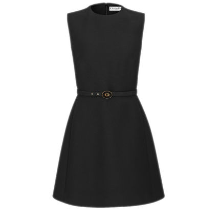 Christian Dior 30 Montaigne Belted Dress