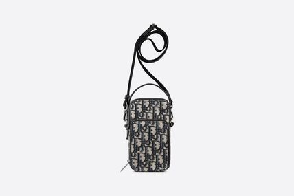 Street Style Small Shoulder Bag Logo