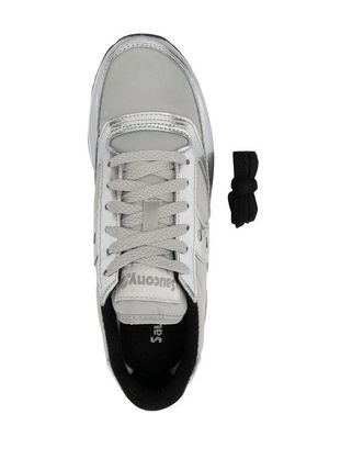Round Toe Lace-up Casual Style Logo Low-Top Sneakers