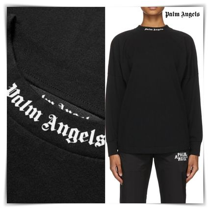 Palm Angels More T-Shirts Unisex Street Style T-Shirts