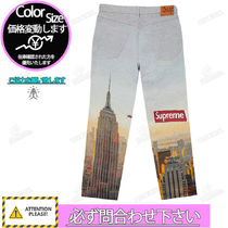 Supreme More Jeans Street Style Logo Jeans 4