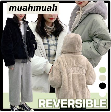 muahmuah Casual Style Street Style Outerwear