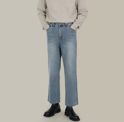 SCENERITY More Jeans Denim Plain Cotton Jeans 3