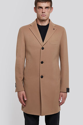 Wool Cashmere Long Coats