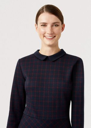 Other Plaid Patterns A-line Flared Cropped Medium