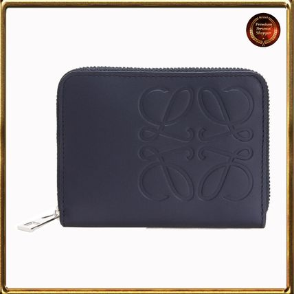 LOEWE Calfskin Long Wallet  Logo Card Holders