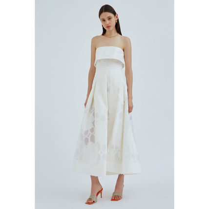 A-line Flared Long Party Style Elegant Style Dresses