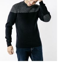 SAINT JAMES Sweaters Wool Blended Fabrics Collaboration Long Sleeves Sweaters 4