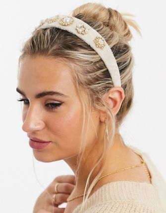 ASOS Casual Style Party Style Elegant Style Bridal Headbands