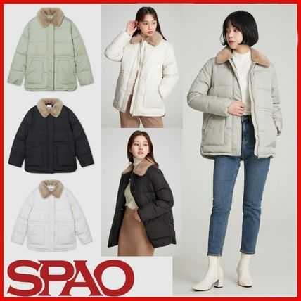 Blended Fabrics Street Style Down Jackets