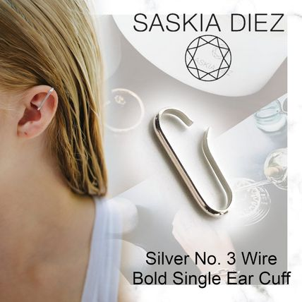 Casual Style Handmade Party Style Silver Office Style