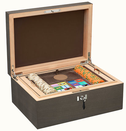 HERMES Casaque H Poker Box