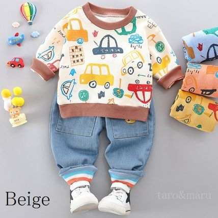 PatPat Co-ord Street Style Baby Boy Tops