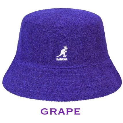 Street Style Bucket Hats Icy Color Wide-brimmed Hats