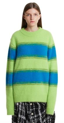 TRUNK PROJECT Sweaters Unisex Blended Fabrics Street Style Plain Oversized Sweaters 2