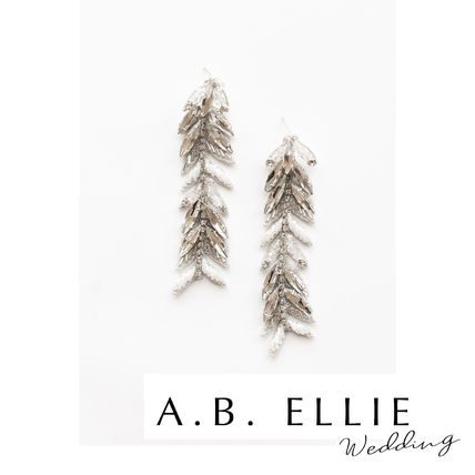 a.b.Ellie Handmade With Jewels Glitter Bridal Metallic