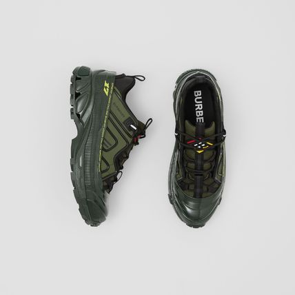 Burberry Street Style Military Activewear Shoes
