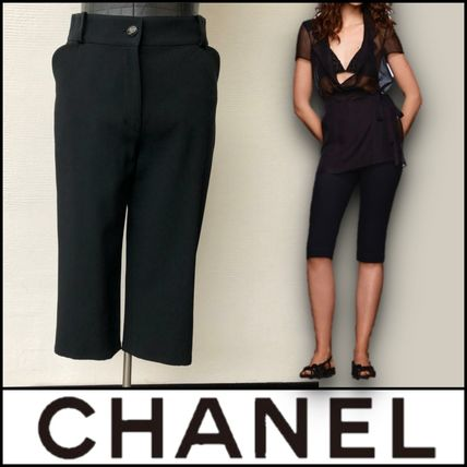 CHANEL Casual Style Street Style Plain Medium Party Style