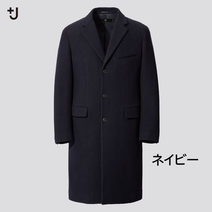 UNIQLO Plain Peacoats Coats