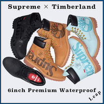 Timberland Street Style Collaboration Logo Boots