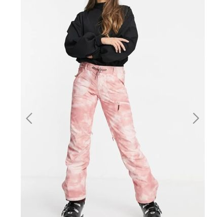 ROXY Printed Pants Casual Style Street Style Tie-dye Long Co-ord