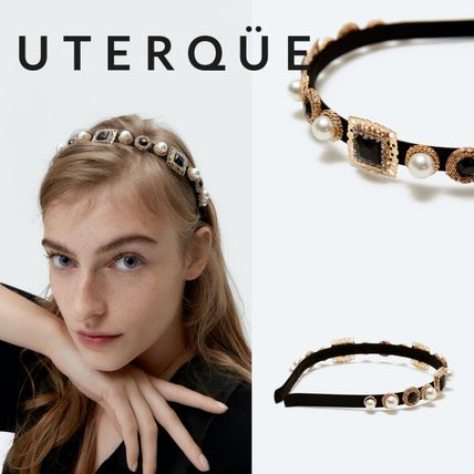 Uterque Party Style With Jewels Elegant Style Headbands