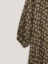 Massimo Dutti Dresses Flower Patterns Casual Style A-line V-Neck Long Sleeves 7