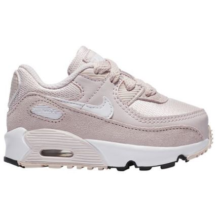 Nike AIR MAX 90 Unisex Collaboration Street Style Kids Girl Sneakers