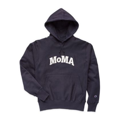 MoMA Hoodies Pullovers Unisex Street Style Collaboration Long Sleeves 3