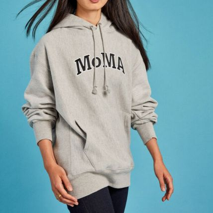 MoMA Hoodies Pullovers Unisex Street Style Collaboration Long Sleeves 11