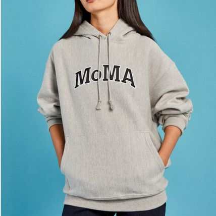 MoMA Hoodies Pullovers Unisex Street Style Collaboration Long Sleeves 12