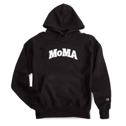 MoMA Hoodies Pullovers Unisex Street Style Collaboration Long Sleeves 13