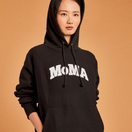 MoMA Hoodies Pullovers Unisex Street Style Collaboration Long Sleeves 15