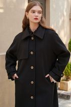 LETTER FROM MOON Wool Long Coats