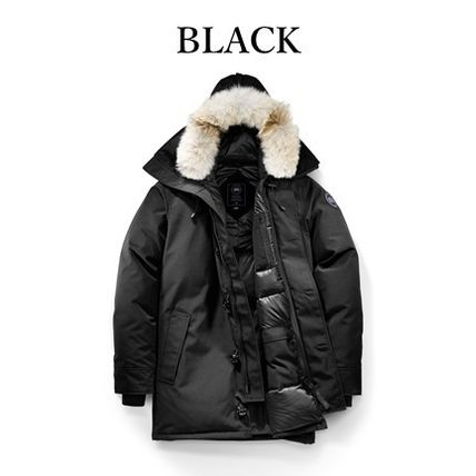 CANADA GOOSE CHATEAU Logo Down Jackets