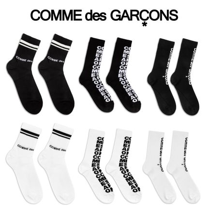 COMME des GARCONS Street Style Logo Undershirts & Socks