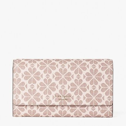 kate spade new york Heart Casual Style Canvas 2WAY Chain Party Style