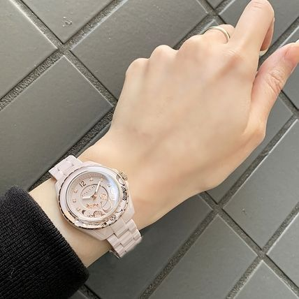Coach Casual Style Street Style Round Party Style Quartz Watches