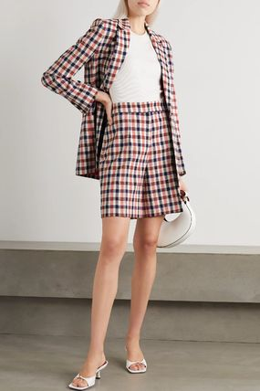 Victoria Beckham Gingham Other Plaid Patterns Casual Style Medium Party Style