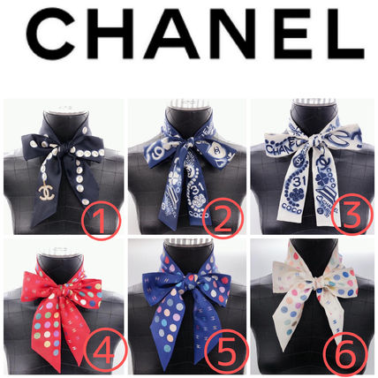 CHANEL Lightweight Scarves & Shawls
