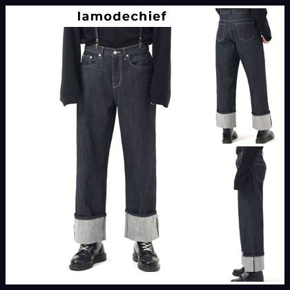 LAMODECHIEF More Jeans Street Style Cotton Jeans