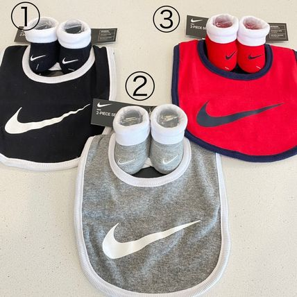 Nike Street Style Co-ord Baby Boy Bibs & Burp Cloths