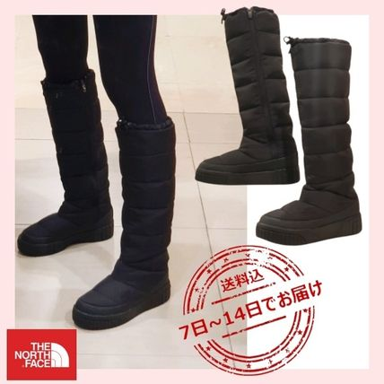 THE NORTH FACE Platform Casual Style Street Style Boots Boots