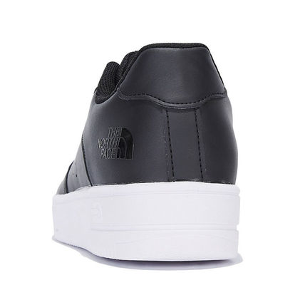 THE NORTH FACE WHITE LABEL Casual Style Unisex Street Style Plain Logo Low-Top Sneakers