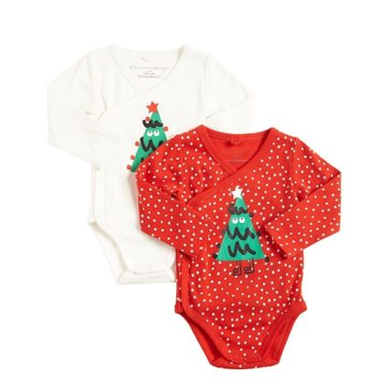 Stella McCartney Holiday Themed Baby Girl Dresses & Rompers