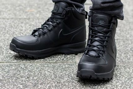Nike Street Style Leather Boots