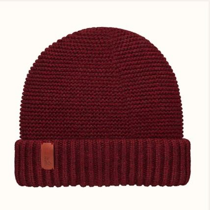 HERMES Boston beanie(Bordeaux)cashmere knit (H202036N BD)